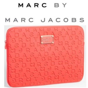 """Marc by Marc Jacobs Dreamy Logo 13"""" laptop sleeve"""